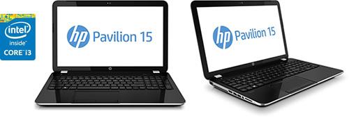 Ноутбук HP Pavilion 15-n068sr на базе процессора Intel Core i3-4005U